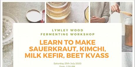 Fermenting Workshop - outdoor venue tickets