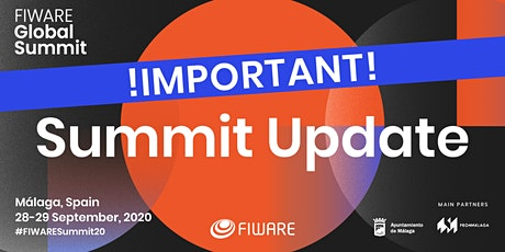FIWARE Global Summit Málaga 2020 tickets