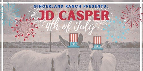 GingerLand Presents JD Casper (With Fireworks Show!) tickets
