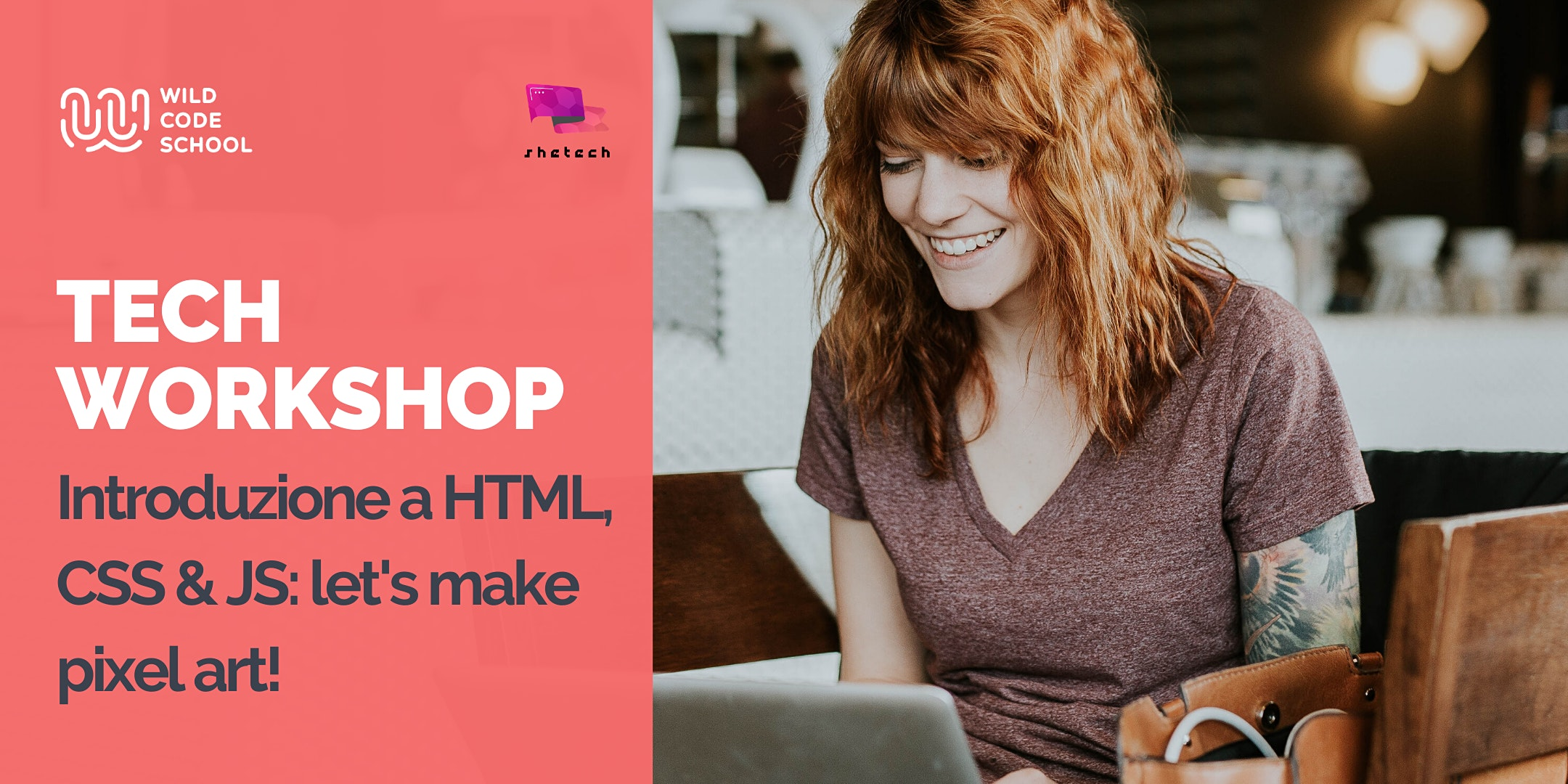 Webinar - Introduzione a HTML, CSS & JS: let's make pixel art!