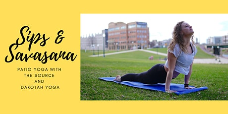 Sips and Savasana tickets