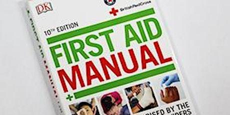 RYA First Aid Update 3 tickets