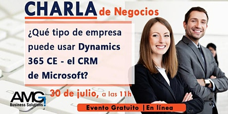 Charla ¿Qué tipo de Empresa puede usar Dyn365 CE - el CRM de Microsoft? entradas