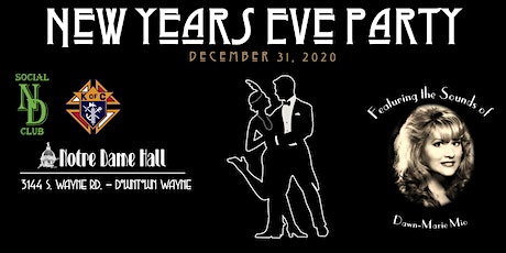 New Years Eve Party @ Notre Dame Hall tickets