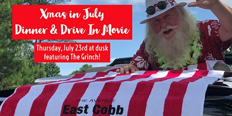 Xmas in July Dinner & Drive In Movie tickets