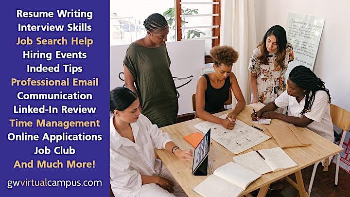 Navigate Online Job Applications [Online Workshop] image