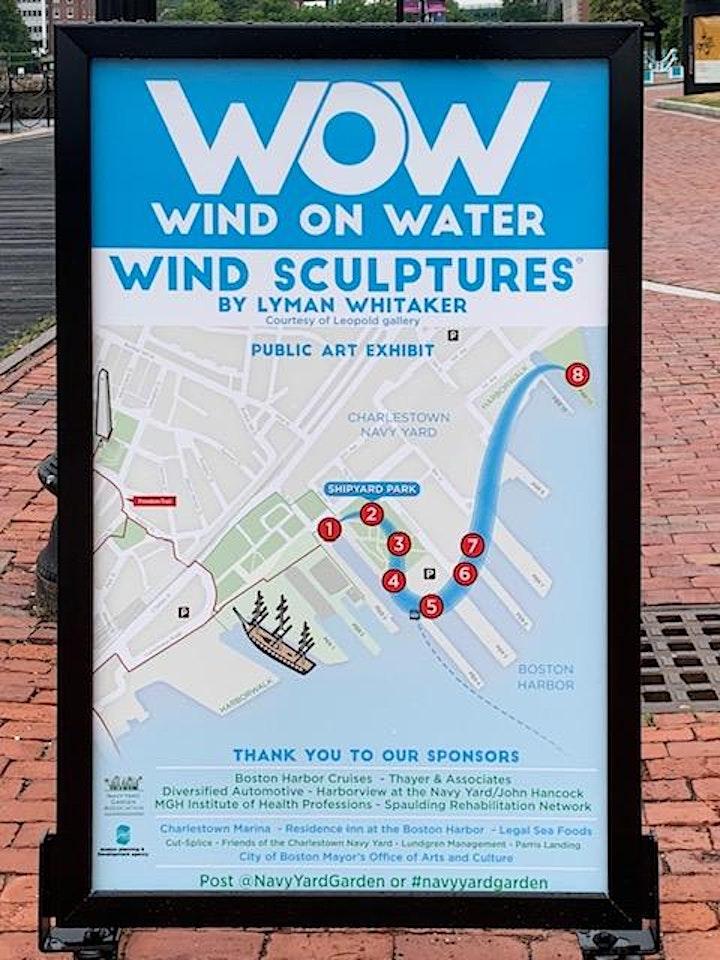 """WOW: Wind On Water"" Outdoor Sculpture Exhibit along the Boston Harborwalk image"