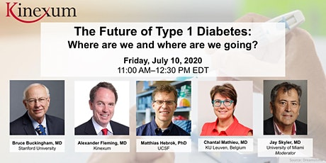 The Future of Type 1 Diabetes—Where are we and where are we going? tickets