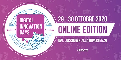 Digital Innovation Days Italy 2020 | Online Edition biglietti