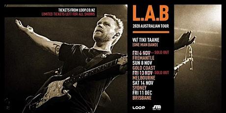 L.A.B-Melbourne [Forum] Nov 2020 tickets
