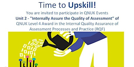 "Unit 2 - IQA Qual ""Internally Assure the Quality of Assessment"" tickets"