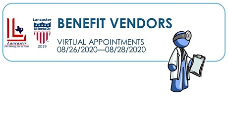 2020 City of Lancaster Open Enrollment - Virtual Vendor Meeting tickets