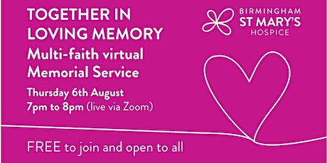 Birmingham and Solihull Care Homes Memorial Service tickets