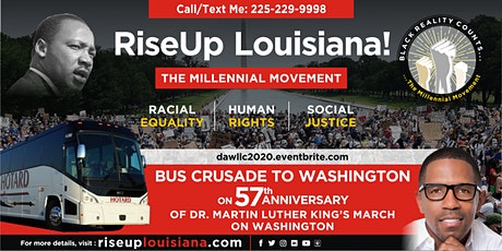 RiseUp Louisiana! Bus Crusade to DC (Alexandria/Opelousas departing) tickets