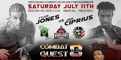 Combat Quest 8:Secure The Bag tickets