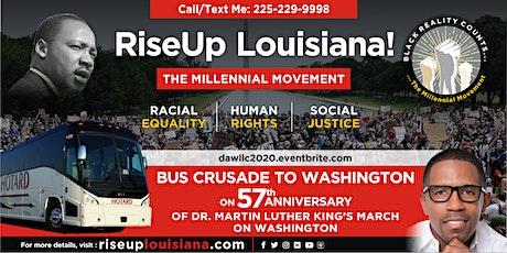 RiseUp Louisiana! Bus Crusade to DC (Baton Rouge/Hammond departing) tickets