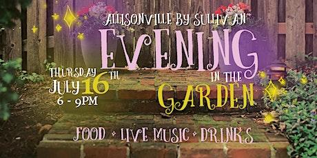 Evening in the Garden tickets