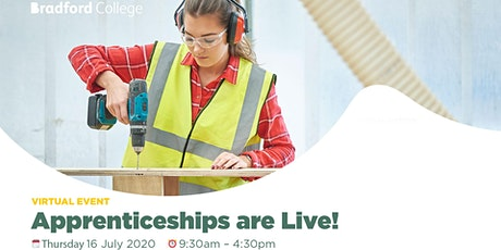 Apprenticeships are Live tickets