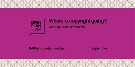 Where is copyright going? tickets