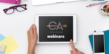 Adult Resources Webinar: Case Management tickets