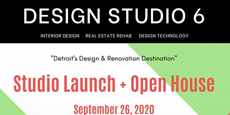 Design Studio 6 - DetroitLaunch and Open House tickets