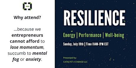 Resilience for Entrepreneurs tickets