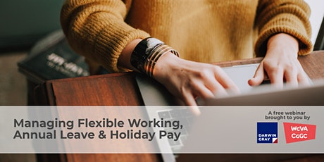 Managing Flexible Working, Annual Leave & Holiday Pay tickets