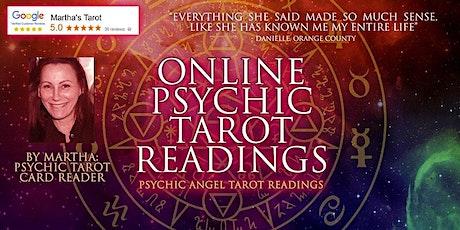 Online Psychic Angel Tarot Readings tickets