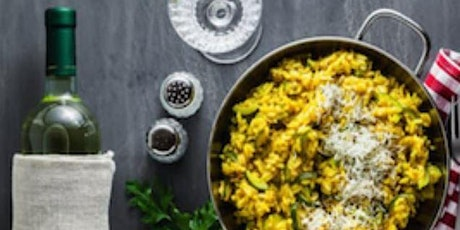 Online  Risotto and Wine Tasting tickets