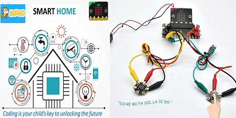 iMap Design My Smart Home with Scratch & Micro:bit (For 10 To 16 Years Old) tickets