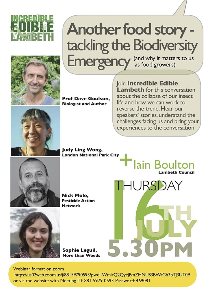 More food stories - tackling the biodiversity emergency and why it matters image