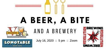 A Beer, A Bite and A Brewery - Revolution Brewing tickets