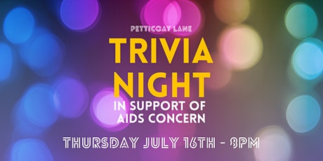 TRIVIA NIGHT - PETTICOAT LANE tickets