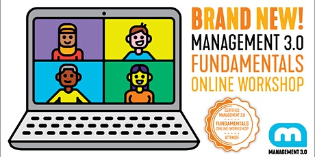 Management 3.0 - Fundamentals Online Workshop tickets