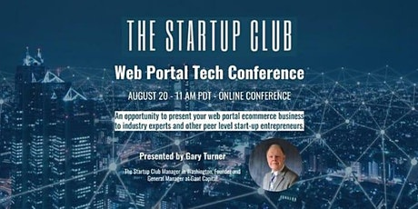 Web Portal Tech Conference Tickets