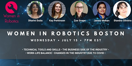 A Coffee Chat with Women in Robotics tickets