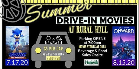 Huntersville Summer Drive In Movies tickets