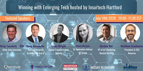 Winning with Emerging Tech hosted by Insurtech Hartford tickets