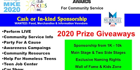Club Kids Shine A Light Family Fest @DNC 10K Covid Kits Giveaway tickets