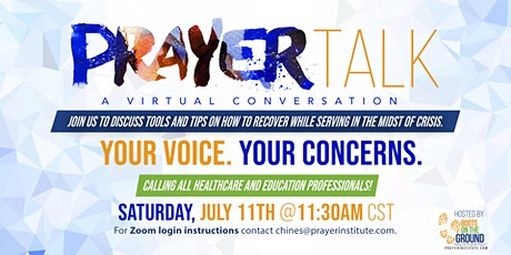 PrayerTalk - A Virtual Conversation Part 2 tickets