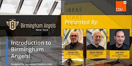 Birmingham Angels NY- Membership Exploratory Meeting (by Invitation Only!) tickets