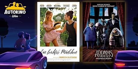 Ein leichtes Mädchen & Die Addams Family - Fr 03.07 AutokinoWien Tickets