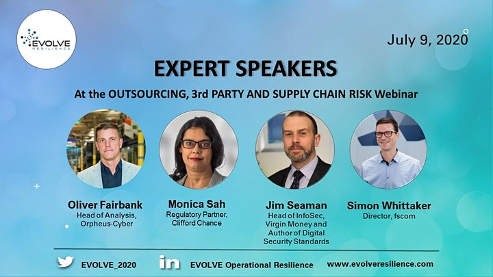 OUTSOURCING, 3rd PARTY AND SUPPLY CHAIN RISK image