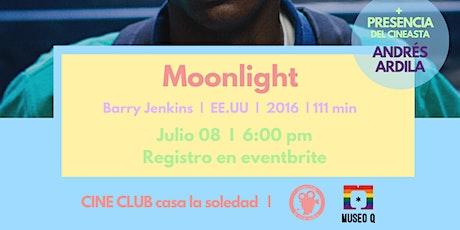 Cine Club V.36 Moonlight - Barry Jenkins, presencia de  Andrés Ardila entradas