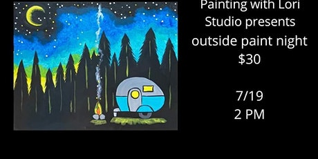 7/19 - Outside Paint Night At The Studio! tickets
