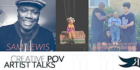 Creative POV Artist Talks - Sam Lewis in conversation with Margaret Hawkins tickets