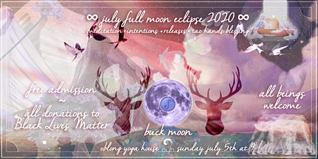 Thunder/Full Buck Moon Gathering @ Oblong Yoga House tickets