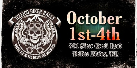 Tellico Biker Rally 2020 tickets