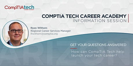 CompTIA Tech Career Academy Information Session billets