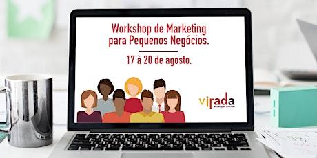 Workshops de Marketing para Pequenos Negócios ingressos
